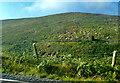 J2528 : View across Upper Bann to the mountain wall on Slievenamaskin by Eric Jones