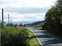 NR9571 : The B8000 road north of Millhouse by Thomas Nugent
