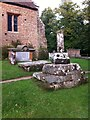 SP3170 : Remains of a cross in Ashow churchyard by Alan Paxton