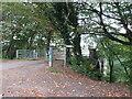 SE3058 : Path onto Nidd Viaduct, near Harrogate by Malc McDonald