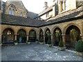 ST6316 : Sherborne - St Johns' Almshouses - Cloister by Rob Farrow