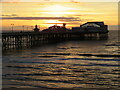 SD3036 : Sunset over Blackpool North Pier by Malc McDonald