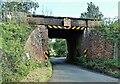 TQ7323 : Railway bridge over Bishop's Lane, Robertsbridge by Patrick Roper