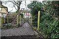 TQ5162 : Footbridge over River Darent by N Chadwick