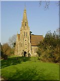 TQ9258 : Church of St Catherine, Kingsdown by Penny Mayes
