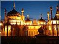 TQ3104 : Brighton Pavilion by night by Elaine Morgan