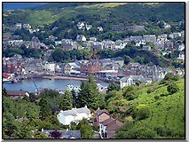 NM8529 : View of Oban from Druim Mor by Dorcas Sinclair
