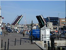 SY6778 : Weymouth Harbour by Ben Gamble