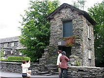 NY3704 : Bridge House: Ambleside (NT) by Pam Brophy