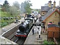 SO7679 : Arley Station, Severn Valley Railway by David Stowell