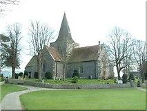 TQ5203 : Alfriston Church by Ben Charlton