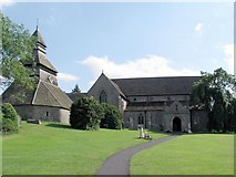 SO3958 : Pembridge Church and Belfry by mym