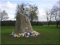 SD8203 : Papal Monument, Heaton Park, Manchester by Keith Williamson