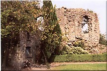 ST1578 : Ruins of Bishop's Palace. Llandaff, Cardiff by D Williams
