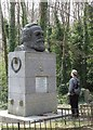 TQ2886 : Karl Marx' Grave, Highgate Cemetery (East) by mym