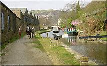 SD9926 : Rochdale Canal at Hebden Bridge by Martin Clark