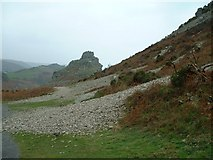 SS7049 : Valley of the Rocks by John Phillips