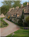 SP1106 : Arlington Row, Bibury, Gloucestershire by neil hanson
