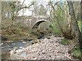 NY5655 : Hynam Bridge by Malcolm Jones