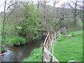 SK0965 : Beggar's Bridge over the River Dove by Paul Ashwin