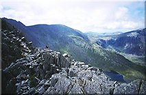 SH6659 : North Ridge of Tryfan. by Richard Webb