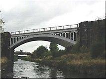 SE2320 : Railway bridge across canal by Stephen Dawson