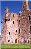 HU4039 : Scalloway Castle by Anne Burgess