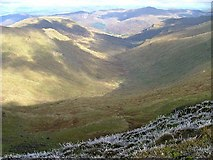 NN6240 : Looking North from Beinn Ghlas by Snaik