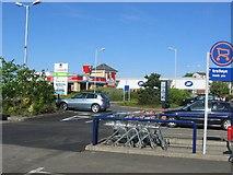 NT2274 : Craigleith Retail  Park by Richard Webb