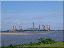 SJ5486 : Fiddlers Ferry Power Station by Colin Wynne-Parle