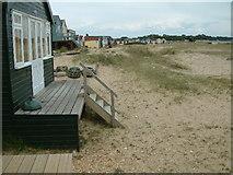 SZ1891 : Beach Huts by Stuart Buchan