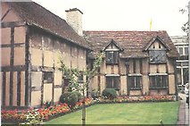 SP2055 : Shakespeare's Birthplace in Stratford Upon Avon by Frederick Blake