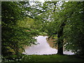 SO9565 : Lake at Pipers Hill wood by Richard  Dunn