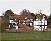 SO3955 : Luntley Manor and Dovecote by Ruth Harris