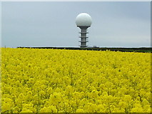 TF1296 : Radio/Listening Station Close to Lincolnshire's highest point. by John Parker