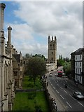 SP5206 : Great Tower, Magdalen College by Nick Berry