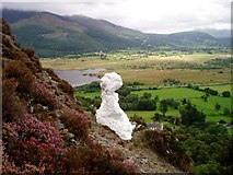 NY2126 : The Bishop on Barf, above Bassenthwaite Lake by David Gruar