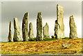 NB2133 : Callanish stone circle by Chris Coleman