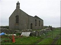 NR3143 : Risabus Church, Oa, Islay by J M Briscoe