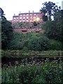 NY4754 : Corby Castle & River Eden by Lynne Kirton