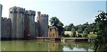 TQ7825 : Bodiam Castle entrance by Nigel Freeman