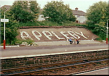 NY6820 : Appleby Railway Station by Andy Beecroft