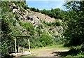 SO7537 : Slashers Quarry, Hollybush. by Jerry Fryman