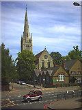 TQ2273 : Holy Trinity Church, Roehampton. by Noel Foster