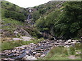 SH9524 : Waterfall, Rhiwargor by andy
