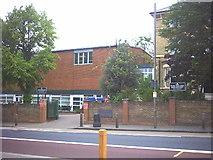 TQ2374 : Putney High School, Putney Hill. by Noel Foster