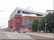NS5564 : Ibrox Stadium by Gordon McKinlay