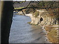 SD4575 : Cave on the Shore at Silverdale by Graham Chastney