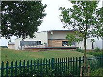 TQ1372 : Sports centre in Hampton by steve