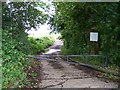 SO8944 : Old Access road to Defford airfield by Bob Embleton